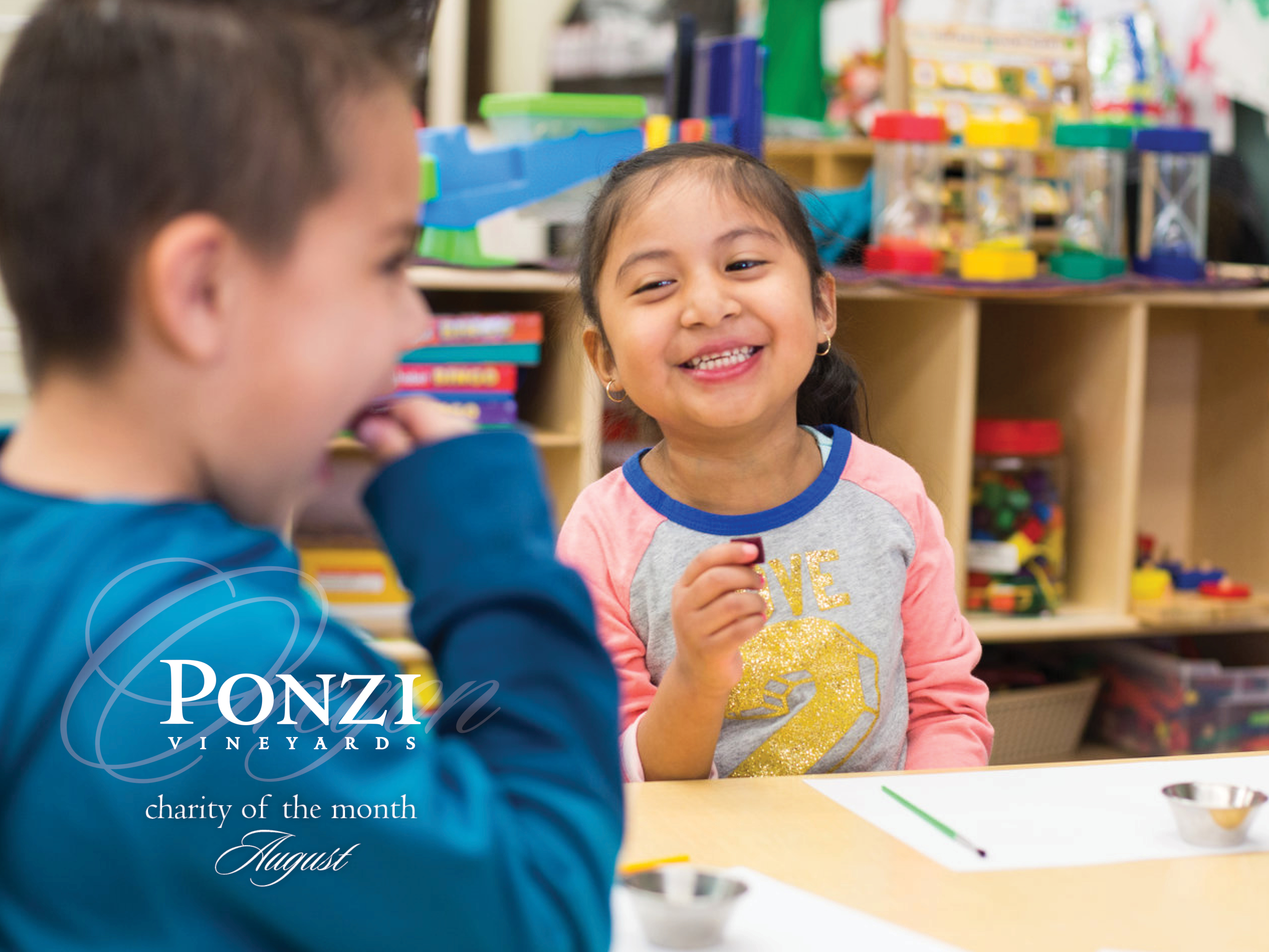 Adelante Mujeres is the August Charity of the Month at Ponzi Vineyards