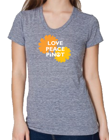 Love Peace Pinot Shirt - Women's